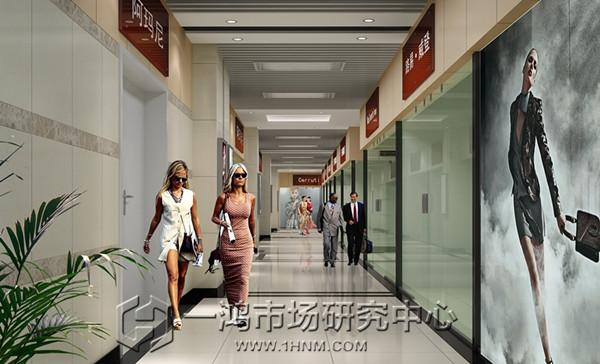 杭州中沙小商品市场设计效果图