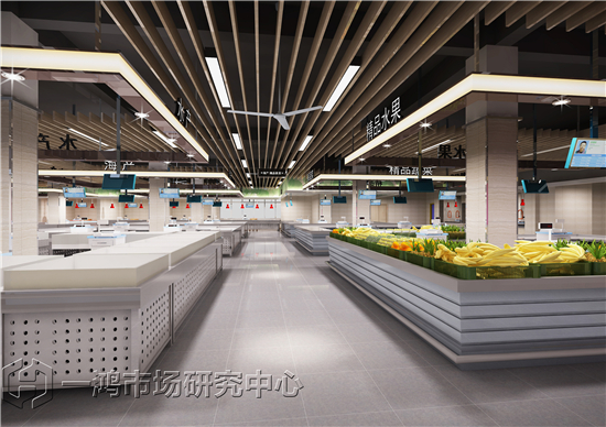 嘉兴南江路农贸市场设计—一鸿市场研究中心